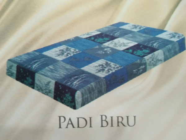 Padi Biru adalah motif dari kasur busa inoac surabaya