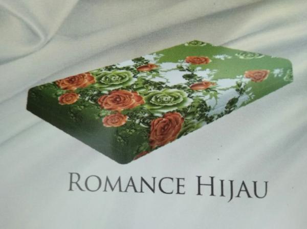 Romance Hijau adalah motif dari kasur busa inoac surabaya