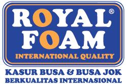 logo kasur busa royal foam surabaya