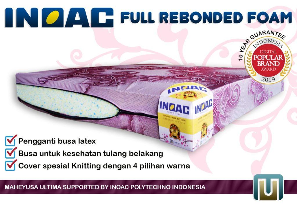 Kasur Busa Inoac Rebonded dengan Density 40 Surabaya