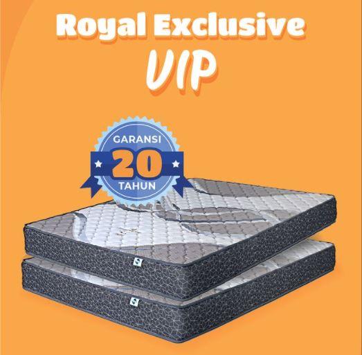 Exclusive V.I.P adalah kasur busa merk royal foam surabaya