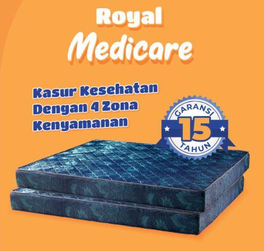 kasur busa ROYAL FOAM SURABAYA tipe Royal Medicare
