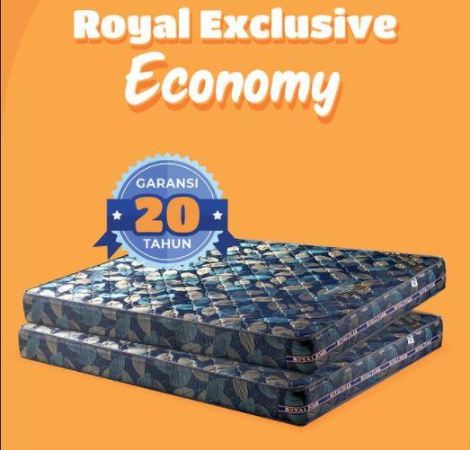 Exclusive Economy adalah salah satu produk kasur busa dari royal foam surabaya